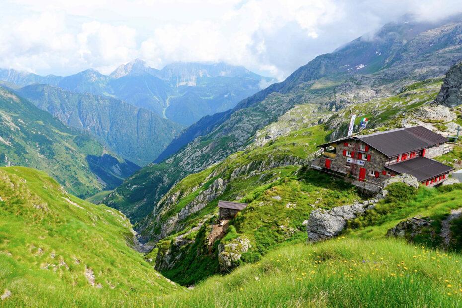 Huttentrektocht in de Alpen