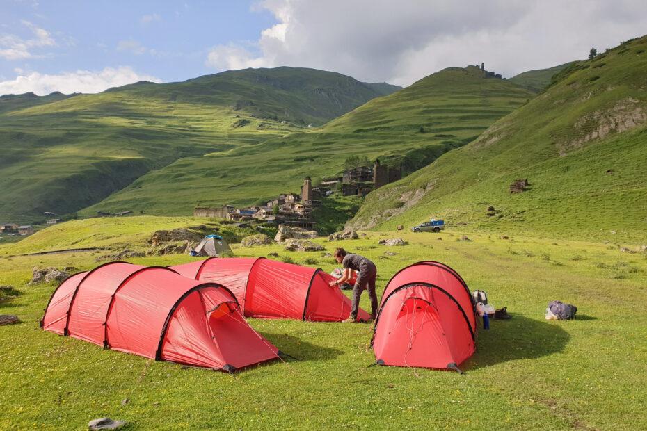 Wandelvakantie kamperen